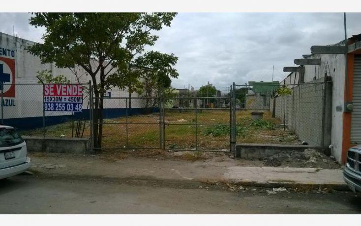Foto de terreno comercial en venta en entre calle cerro del ajusco y avenida puerto de campeche 22, volcanes, carmen, campeche, 1734636 no 01
