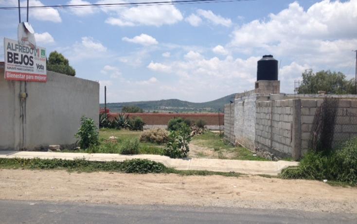 Foto de terreno comercial en venta en  , epazoyucan centro, epazoyucan, hidalgo, 1303077 No. 01