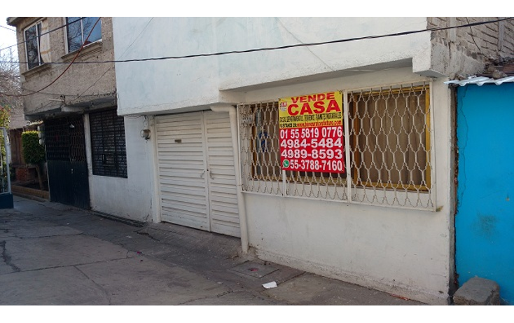 Foto de casa en venta en  , ermita zaragoza, iztapalapa, distrito federal, 1718326 No. 01