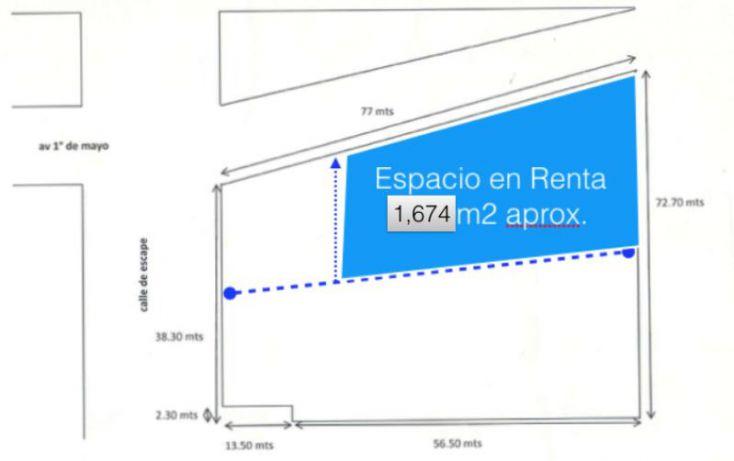Foto de terreno industrial en renta en escape 41, industrial alce blanco, naucalpan de juárez, estado de méxico, 1634668 no 01