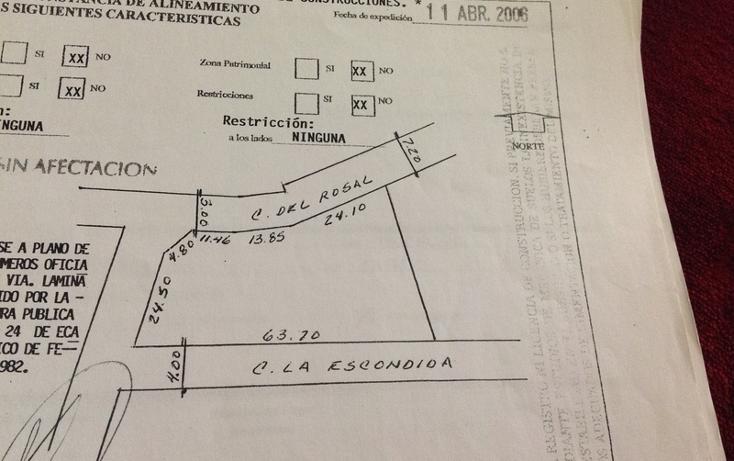 Foto de terreno habitacional en venta en escondida , tetelpan, álvaro obregón, distrito federal, 449022 No. 07