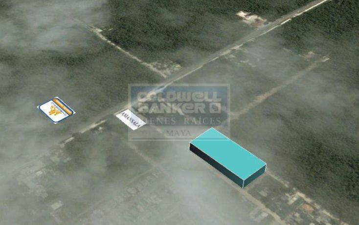 Foto de terreno habitacional en venta en escorpion, villas tulum, tulum, quintana roo, 328824 no 02