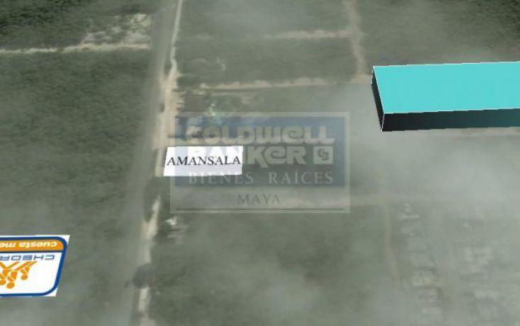 Foto de terreno habitacional en venta en escorpion, villas tulum, tulum, quintana roo, 328824 no 03