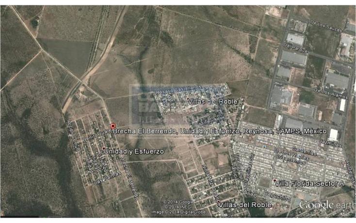 Foto de terreno comercial en venta en  , esfuerzo nacional i, reynosa, tamaulipas, 1839482 No. 03