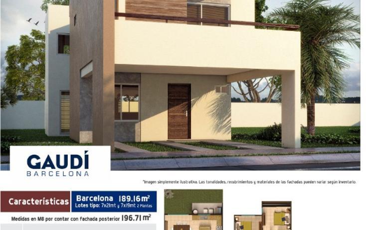 Foto de casa en venta en  , espacios barcelona, culiacán, sinaloa, 1320625 No. 01