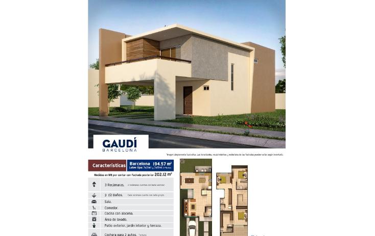 Foto de casa en venta en  , espacios barcelona, culiacán, sinaloa, 1320625 No. 02