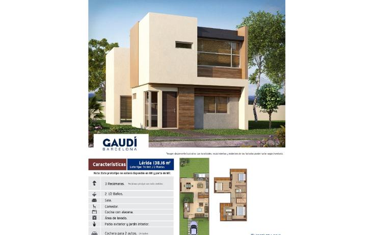Foto de casa en venta en  , espacios barcelona, culiacán, sinaloa, 1320625 No. 05