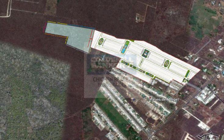 Foto de terreno habitacional en venta en espaldas desarrollo arborea, conkal, conkal, yucatán, 1754842 no 02