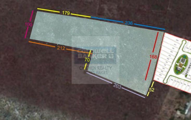 Foto de terreno habitacional en venta en espaldas desarrollo arborea, conkal, conkal, yucatán, 1754842 no 03