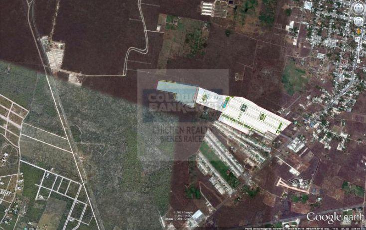Foto de terreno habitacional en venta en espaldas desarrollo arborea, conkal, conkal, yucatán, 1754842 no 04