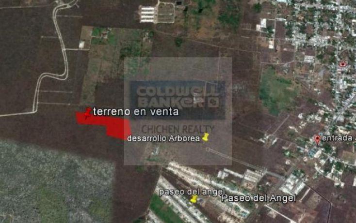 Foto de terreno habitacional en venta en espaldas desarrollo arborea, conkal, conkal, yucatán, 1754842 no 05