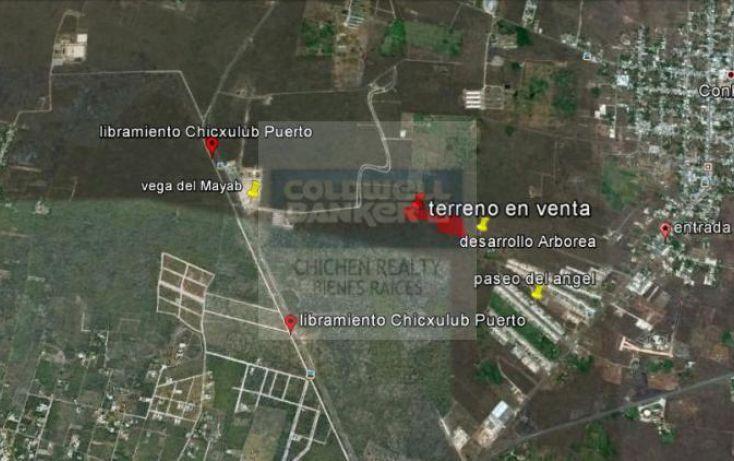 Foto de terreno habitacional en venta en espaldas desarrollo arborea, conkal, conkal, yucatán, 1754842 no 06