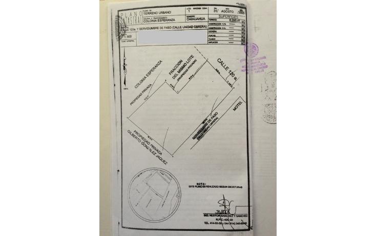 Foto de terreno comercial en venta en  , esperanza, chihuahua, chihuahua, 1291547 No. 03