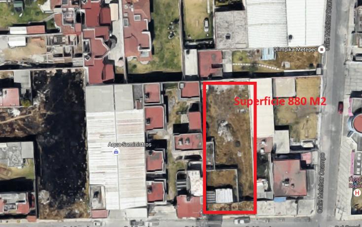 Foto de terreno habitacional en venta en  , espíritu santo, metepec, méxico, 1061317 No. 02