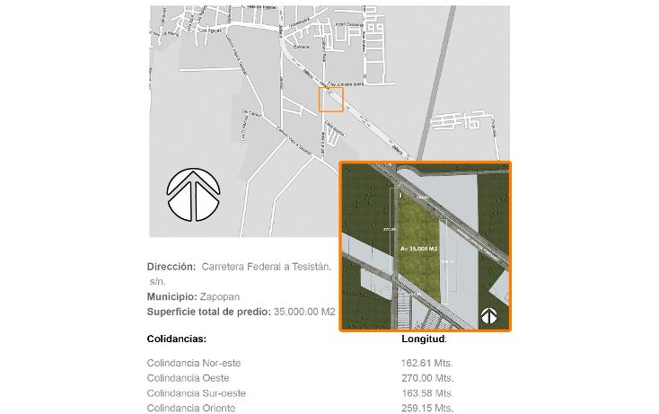 Foto de terreno comercial en venta en  , estrada, zapopan, jalisco, 1620396 No. 01
