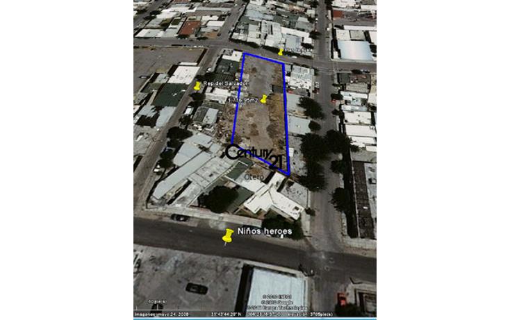 Foto de terreno comercial en venta en  , exhipódromo, juárez, chihuahua, 1180609 No. 02