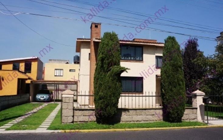 Foto de casa en venta en  , explanada del parque, metepec, m?xico, 397938 No. 01