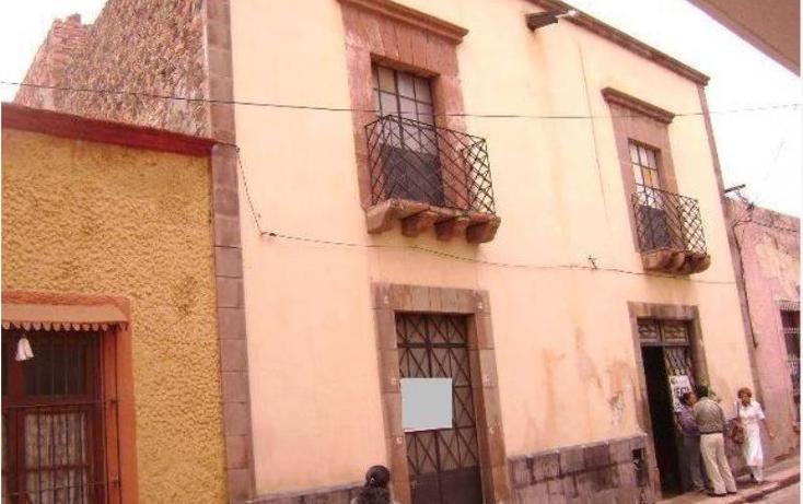 Foto de casa en venta en ezequiel montes 10, centro, quer?taro, quer?taro, 994149 No. 01
