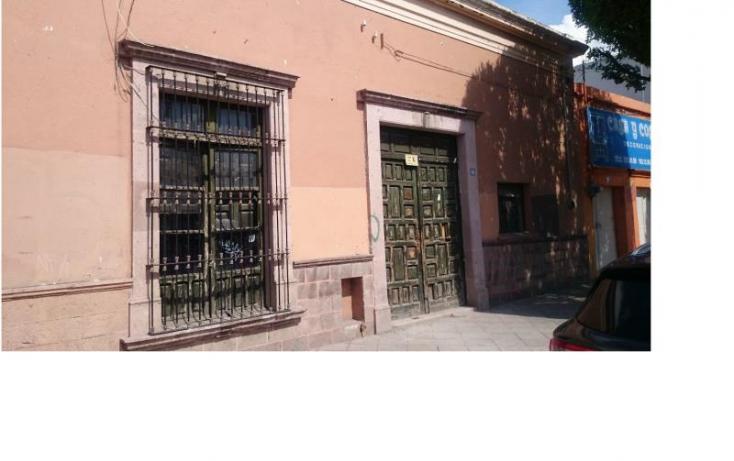Foto de terreno comercial en venta en ezequiel montes, norte 98a, centro, querétaro, querétaro, 860041 no 01
