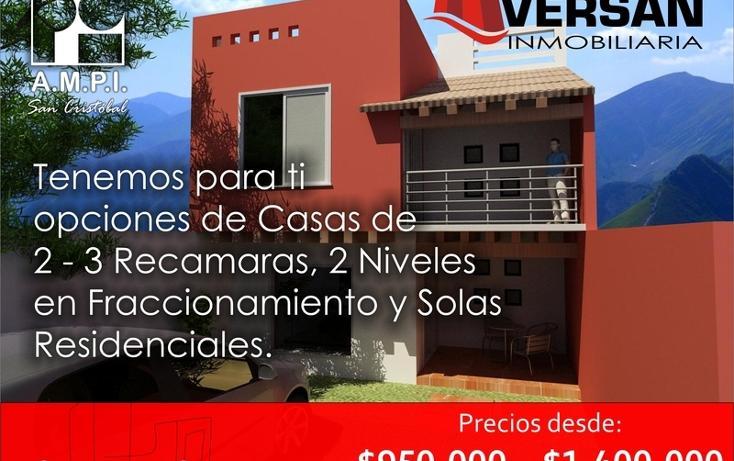 Foto de casa en venta en  , fátima, san cristóbal de las casas, chiapas, 1521435 No. 01