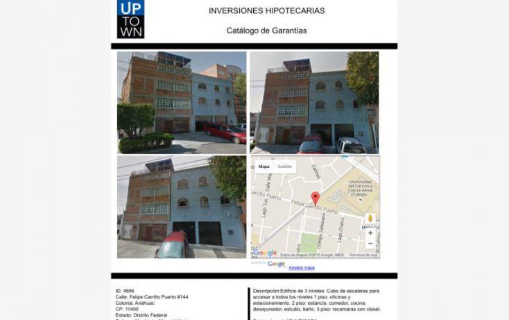Foto de edificio en venta en felipe carrillo 144, tlacuitlapa, álvaro obregón, df, 1645052 no 01