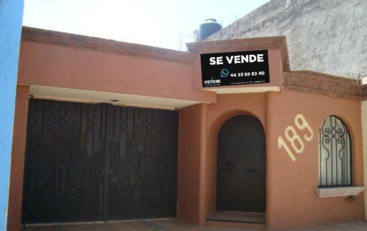 Foto de casa en venta en, félix ireta, morelia, michoacán de ocampo, 827251 no 01