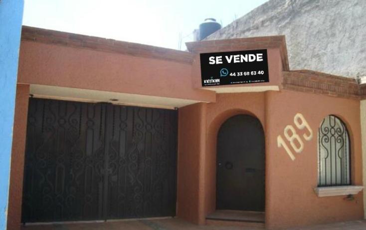 Foto de casa en venta en  , f?lix ireta, morelia, michoac?n de ocampo, 827251 No. 01