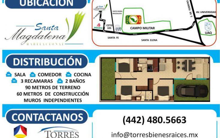 Foto de casa en venta en féni 302, del valle, querétaro, querétaro, 1607196 no 03
