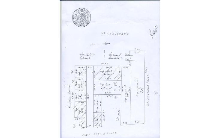 Foto de terreno habitacional en venta en  , santiago atzacoalco, gustavo a. madero, distrito federal, 774443 No. 10
