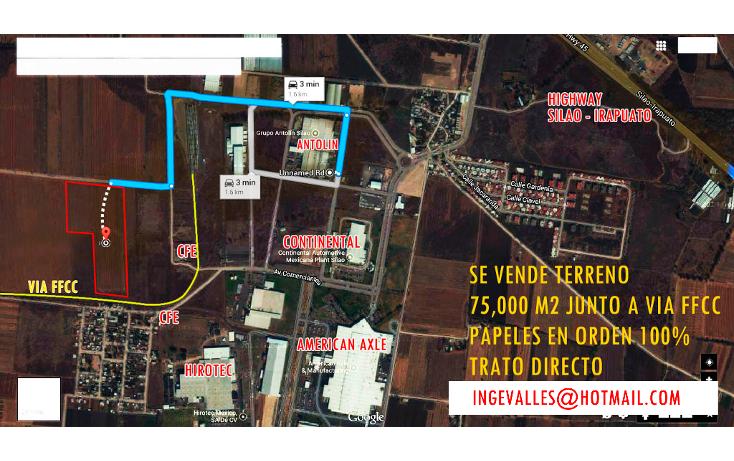 Foto de terreno industrial en venta en, ferrocarrilera, silao, guanajuato, 1749548 no 13