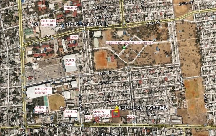 Foto de terreno habitacional en venta en  , fidel vel?zquez, m?rida, yucat?n, 1162153 No. 02