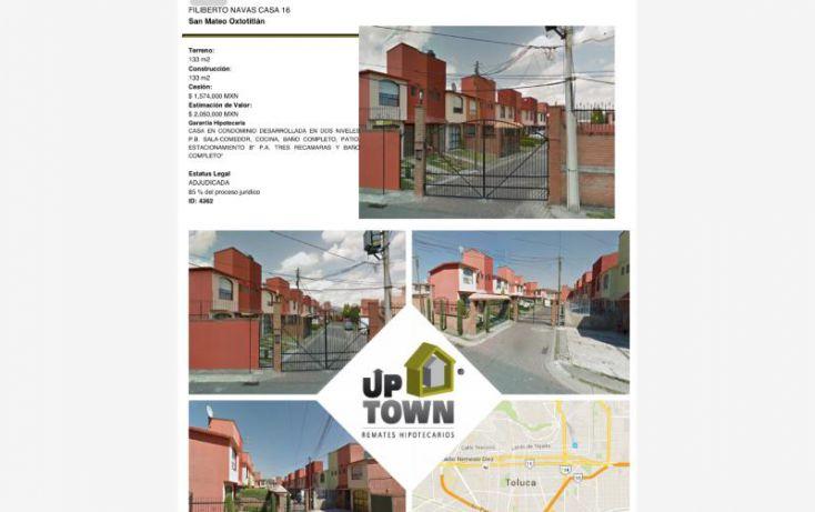Foto de casa en venta en filiberto nsvas 16, exhacienda san jorge, toluca, estado de méxico, 1414145 no 01