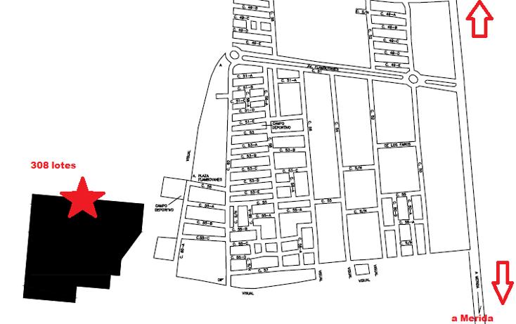 Foto de terreno habitacional en venta en  , flamboyanes, progreso, yucat?n, 1430907 No. 01