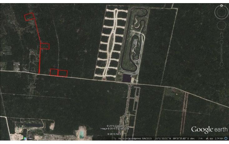 Foto de terreno habitacional en venta en  , flamboyanes, progreso, yucat?n, 1514860 No. 01