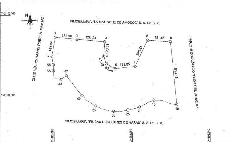 Foto de terreno habitacional en venta en  , flor del bosque, amozoc, puebla, 1379047 No. 11