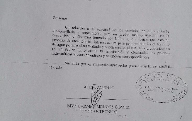 Foto de terreno comercial en venta en, flor del durazno, morelia, michoacán de ocampo, 1940850 no 08