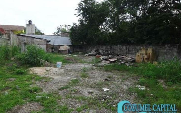 Foto de terreno habitacional en venta en  #, flores mag?n 3, cozumel, quintana roo, 1537402 No. 03