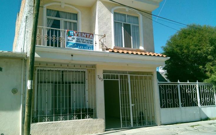 Foto de casa en venta en circuito rosa ---, floresta, irapuato, guanajuato, 589122 No. 01
