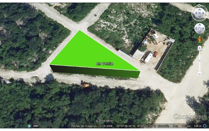 Foto de terreno habitacional en venta en  , forjadores, solidaridad, quintana roo, 1264667 No. 01