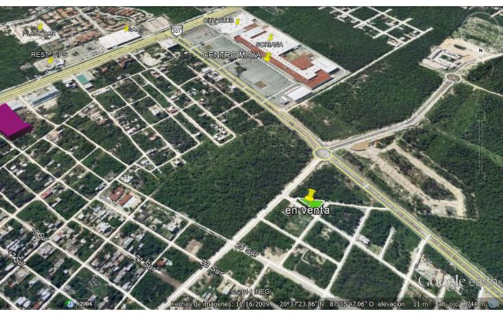 Foto de terreno habitacional en venta en  , forjadores, solidaridad, quintana roo, 1264667 No. 02