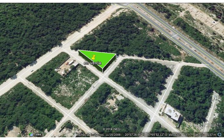 Foto de terreno habitacional en venta en  , forjadores, solidaridad, quintana roo, 1264667 No. 03