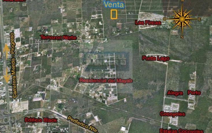 Foto de terreno habitacional en venta en fracc torres de temozn, chablekal, mérida, yucatán, 1754704 no 02