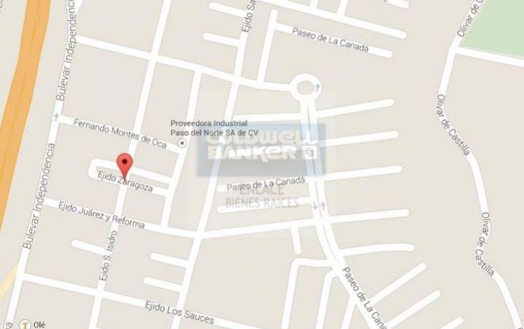 Foto de terreno habitacional en venta en fraccin de la parcela 163z, zaragoza, juárez, chihuahua, 795033 no 07