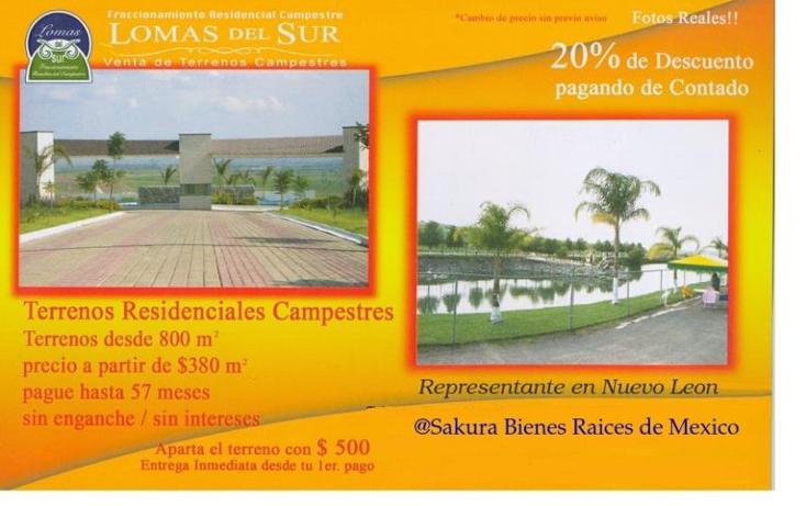 Foto de terreno habitacional en venta en  , fraccionamiento campestre lomas del sur, romita, guanajuato, 715777 No. 02