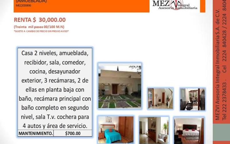 Foto de casa en renta en  1, puerta de hierro, puebla, puebla, 2821197 No. 07