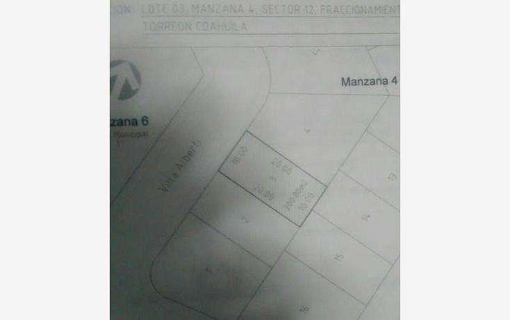 Foto de terreno habitacional en venta en  , fraccionamiento villas del renacimiento, torre?n, coahuila de zaragoza, 587914 No. 05