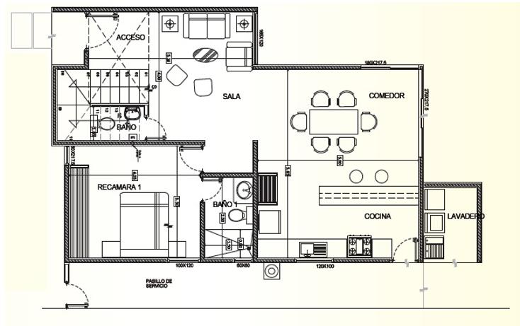 Foto de casa en venta en, francisco de montejo, mérida, yucatán, 1262767 no 02