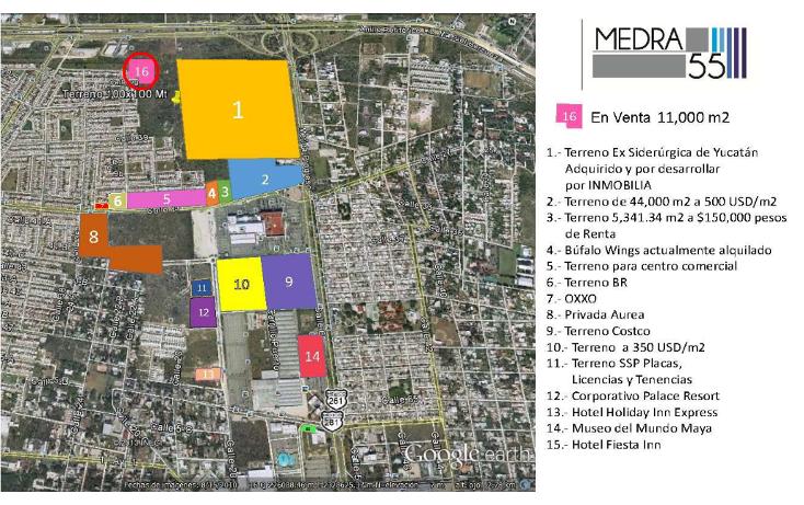 Foto de terreno habitacional en venta en  , francisco de montejo, mérida, yucatán, 1276309 No. 01