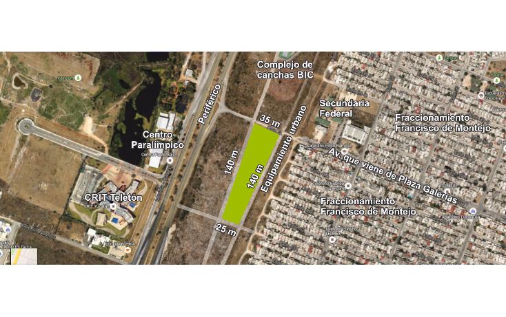 Foto de terreno comercial en venta en  , francisco de montejo, mérida, yucatán, 1300135 No. 02