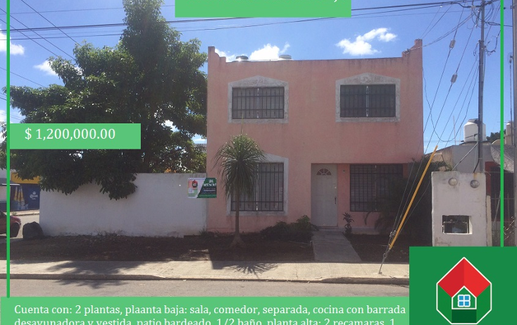 Foto de casa en venta en  , francisco de montejo, mérida, yucatán, 1475647 No. 01